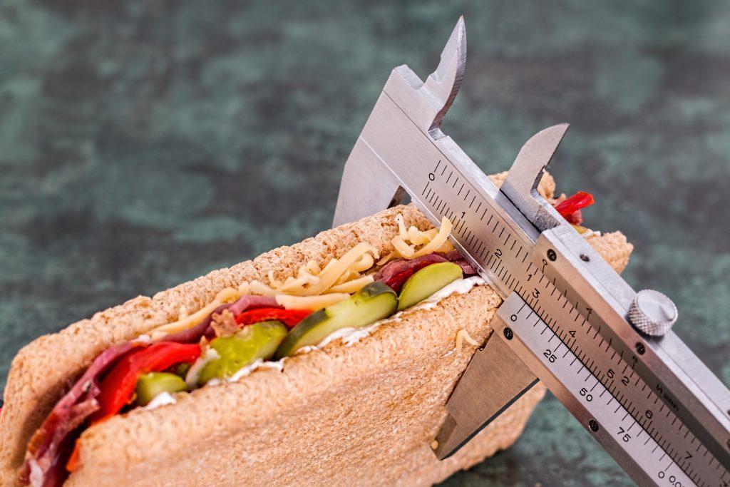 Gesundes Essen, das schlank macht